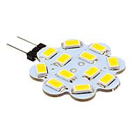 2w g4 led-bi-pin valot 12 smd 5630 250 lm lämmin valkoinen / viileä valkoinen dc 12 v 10 kpl