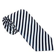 Black&White Striped Tie