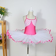 Kids' Dancewear Dresses Children's Cotton / Spandex / Tulle Sleeveless CM:110:50,120:53,130:56,140:59,150:61