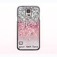 Personalized Phone Case - Shimmering Powder Design Metal Case for Samsung Galaxy S5