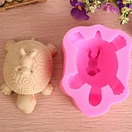 Turtle Frog Animal Shaped Fondant Cake Chocolate Silicone Mold Cake Decoration Tools,L10.5cm*W7.6cm*H5.4cm
