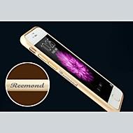 shell personalizado gravado de metal requintado pára-choques moldura para 4,7 polegadas do iPhone 6 (ouro, prata, preto, rosa)