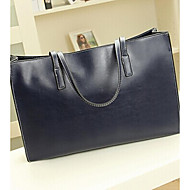 Handcee® Woman Very Simple PU Tote Bag