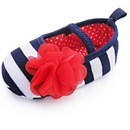 Girl's Flats Spring / Summer / Fall First Walkers / Crib Shoes Fabric Wedding / Party & Evening / Dress / Casual Flower / Gore Multi-color