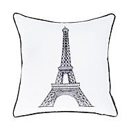 """moderna 18 """"fyrkantig Eiffeltornet örngott / kudde med insats"""