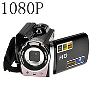 1080p digitale videokamera Full HD 16x digital zoom DV-kamera kit sort