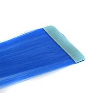 긴 직선 테이프 합성 확장 2 개 블루