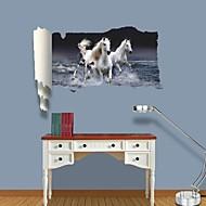 Adesivos de parede adesivos de parede 3d, Whitehorse parede decoração adesivos de vinil