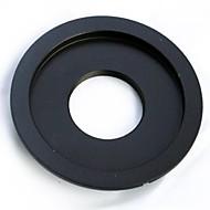 c montagem da lente para Canon EOS EF 6d 7d 10d 20d 5D3 650D 700D 1000D 40d 50d 60d adaptador
