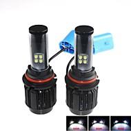 CONQUER®2PCS 9004   40W High Brightness High Power CREE LED Headlight Headlamp for Car