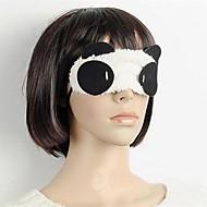 tonos lindo máscara para los ojos de panda venda en los ojos para dormir ayuda durante el viaje de retorno cubierta regalo de boda ojo