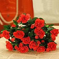 פלסטיק / חוט אזליה פרחים מלאכותיים