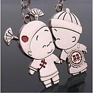 ζευγάρι ρομαντικό γάμο κλειδί μπρελόκ δαχτυλίδι για την ημέρα του εραστή του Αγίου Βαλεντίνου (ζεύγος)