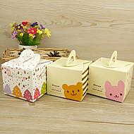 galletas de embalaje cajas de embalaje cajas de azúcar (juego de 5)