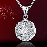 Женские - Ожерелье (Серебро , Фиолетовый/Розовый/Красный/Белый