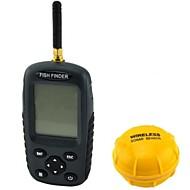 2.5 ''도트 매트릭스 LCD 충전식 무선 수중 음파 탐지기 물고기 찾기