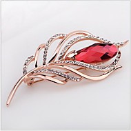 Tina -- Fashion High-grade Rhinestone Heaven's Wing Alloy Brooch in Party