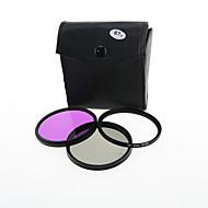 Camera Lens Filter 67mm CPL UV FLD Filter Kit for Canon Nikon 18-135 18-105 67mm Lens