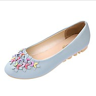 Women's Shoes Patent Leather Flat Heel Round Toe Flats Casual More Colors available