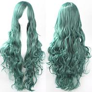 moda cosplay must-have parrucca di capelli ragazza di alta qualità capelli ricci