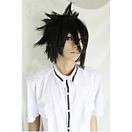 angelaicos miehet death note Sasuke Uchiha pojat musta lyhyt kerroksittain Harajuku halloween puku cosplay peruukki