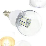 1pcs E14 7W SMD 5730 648LM Warm White/Cool White Globe Bulbs DC12/24V