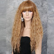móda dívka přírodní zlatá malá vlna z vysoce kvalitních syntetických vlasů