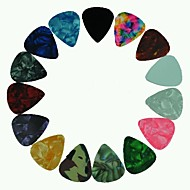 moyenne 0.71mm Guitar Picks médiators en celluloïd couleurs assorties 100pcs-pack