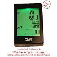 Bike Tietokoneet Pyöräily/Maantiepyörä/MTB/BMX -Vedenkestävä/Sekunttikello/LED-valo/Kello/Langaton/Lämpötilan näyttö/Pimeänäkö/Nopeuden