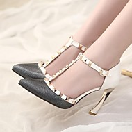 Women's Shoes Stiletto Heel Pointed Toe Pumps Shoes with Rivet Dress More Colors available