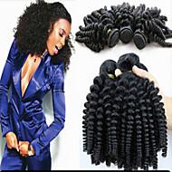 La extensión del pelo - para Mujer - Cabello natural - Negro - Rizado