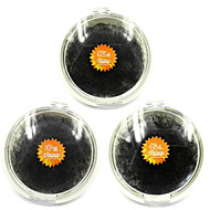 3PCS (8mm&10mm&12mm) Black Individual False Eyelashes Extensions Fake Eye Lash Hand Made Planting Grafting Eyelashes