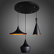 MAX 60W Lámparas Colgantes ,  Moderno / Contemporáneo Galvanizado Característica for Mini Estilo MetalSala de estar / Dormitorio /