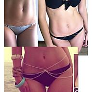 or sexy trois couches corps ventre chaîne des femmes pour les vacances bikini