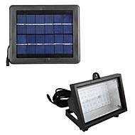 y-sol sol oversvømmet LED-lampe 40pcs førte soldrevne lampe varm hvid udendørs sol førte oversvømmelse lys sl1-3