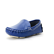 Mocassins ( Noir/Bleu/Blanc/Orange ) - Cuir/Synthétique - Mocassins
