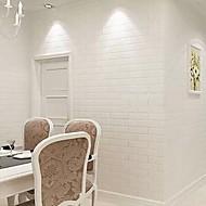 Geométrico Papel de Parede Para Casa Contemporâneo Revestimento de paredes , Vinil Material adesivo necessário papel de parede ,