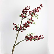 Afdeling Plastik Planter Bordblomst Kunstige blomster 85.09(33.5'')