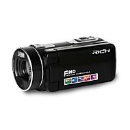 """ricos HD-800 HD 1080p píxeles 13 megapíxeles zoom 16x 3 pantalla lcd """"full hd videocámara cámara digital"""