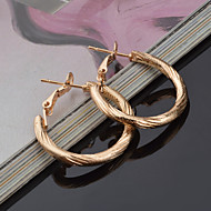 Women's Silver Hoop Earrings