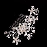 Dame/Blomsterpige Legering Headpiece Bryllup/Spesiell Leilighet/Avslappet Hårkammer Bryllup/Spesiell Leilighet/Avslappet