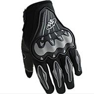 Motorcykel handsker Fuld Finger Polyester/Lycra/Mesh Som Vist På Billedet