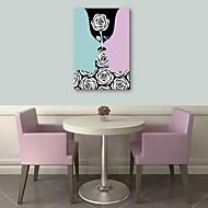 e-Home® venytetty kankaalle taidetta rakkaus sisustusmaalaus