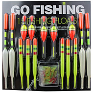 Fishing Float Fishing Gear Articles (15pcs)