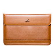 lention för MacBook Air 13 tums äkta läder datorväskor med magnetisk skinnfodral väska fall täcker fler färger