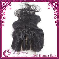 1 v takuu Brasilian neitsyt hiuksista pitsi sulkemiset