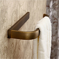 Antique Brass Finish Brass Material Towel Ring