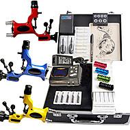 Great Tattoo Kit 3 Rotary Machine New Design Power box