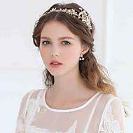 Romantic Women Rhinestone/Crystal/Alloy Tiaras/Headbands With Wedding/Party Headpiece