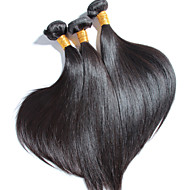 3 pcs/lot High Quality Brazilian Straight Hair, No Shedding, No Tangle 100% Unprocessed Virgin Human Hair